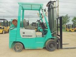 ขายรถฟอร์คลิฟ MITSUBISHI 18 นำเข้าจากญี่ปุ่น ติดต่อยุด 081-987-0866