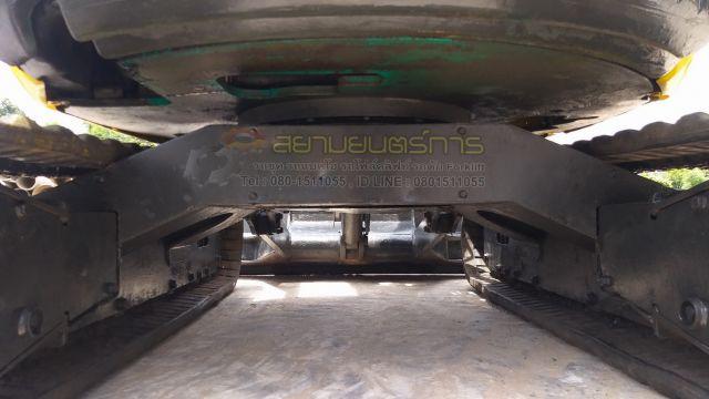 รถขุด แบคโฮ Komatsu PC30MR คอนโทรลสั้น ปั๊มนิ้ว แทรคยาง รถนำเข้าจากต่างประเทศ