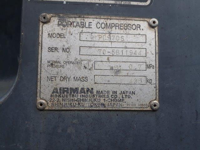 ปั้มลมAIRMAN PDS70S # 70-5B11944 มือสองญี่ปุ่น