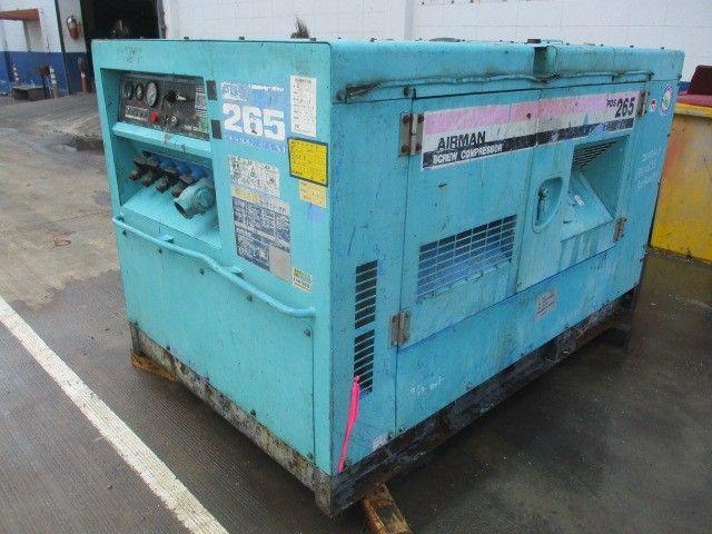 ปั้มลมAIRMAN PDS265S # 55-5040075 มือสองญี่ปุ่น