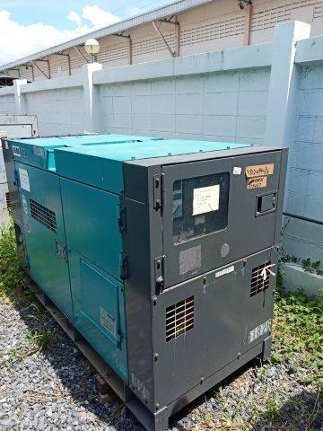 เครื่องปั่นไฟ DENYO DCA60ESH # 3784617 ปี2006 มือสองญี่ปุ่น