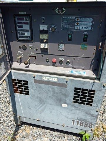 เครื่องปั่นไฟ DENYO DCA60ESH # 3788407 ปี2006 มือสองญี่ปุ่น