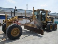 รถเกรด CAT 140H ซีเรียล APM01825 มือสองนำเข้า 085-9049669 เก่ง เอ็นดีที
