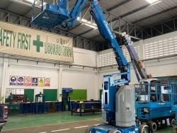 กระเช้าไฟฟ้า GENIE Z30/20N # 9398 สูง 9 เมตร มือสองญี่ปุ่น 0859049669 เก่ง ครับ