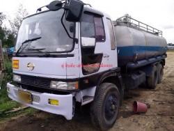 ขายคับรถบรรทุกน้ำสิบล้อฮีโน่227วางหัวไฮเทคเครื่องPO9-320เเรง-2เพลา เดินระบบน้ำหัยน้ำเรียบร้อยพร้อมใช้