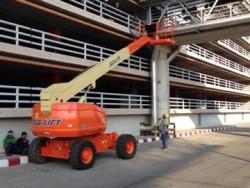 ขึ้นทำงานบนที่สูงไว้ใจเรา รถกระเช้า JLG สามารถช่วยคุณได้ สนใจเช่า ติดต่อ คุณรุจิมาศ 084-874-2938