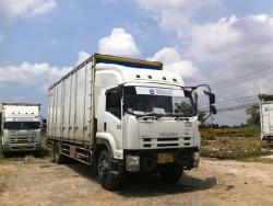 ขายรถบรรทุก6ล้อ พร้อมตู้10บาน ยี่ห้อ ISUZU FTR240 Euro3 Com ยาว 7.5เมตร