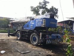 ขายรถเคน 25 ตัน KOBELCO PK250-2 เอกสารไฟฟ้าครบ