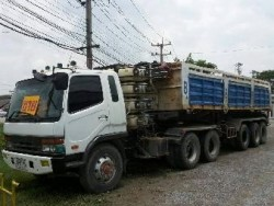 ขายด่วน รถหัวลาก 2 คัน ขายเฉพาะหัว2คันคู่ มิตซูบิชิ 627/527