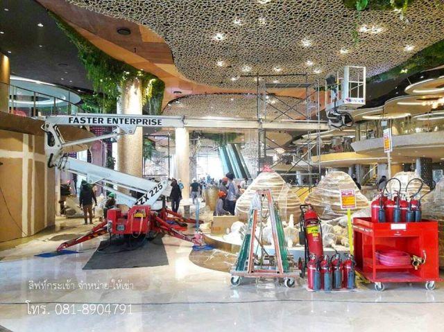 สไปเดอร์ลิฟท์ (Spider Lift ) น้ำหนักเบา เหมาะใช้ในห้างสรรพสินค้า
