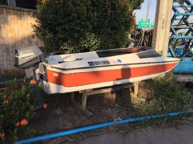 ขายเรือYAMAHA 12ฟุต มือสองญี่ปุ่น สภาพสวย ตามสภาพ ขายถูก ราคาขาดทุน