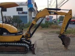 CAT303CR เก่าญี่ปุ่น พร้อมใช้งาน ระบบไว
