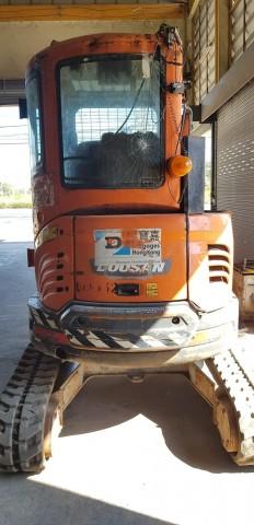 DOOSAN DX35z ขนาด 3.5ตัน เช็คระบบให้พร้อมใช้งาน สีตามสภาพ