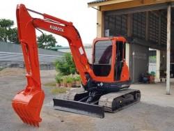KUBOTA KX161-3SZ เก่านอก สภาพพร้อมใช้งาน ระบบไว ทำสีใหม่
