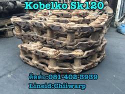 ขายโซ่เก่านอก คู่ละ15,000บาท Kobelko sk120 สวยๆ