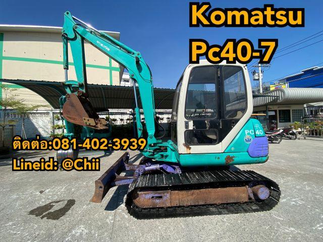 ขายรถkomatsu pc40-7 เก่านอกสวยๆ