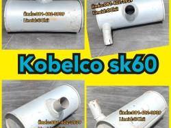 ท่อไอเสีย kobelco sk60 ขายอะไหล่แบคโฮ