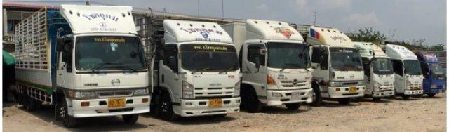 รถรับจ้าง ให้เช่า บริการ งานขนส่งรายเที่ยว ย้ายบ้าน สำนักงาน