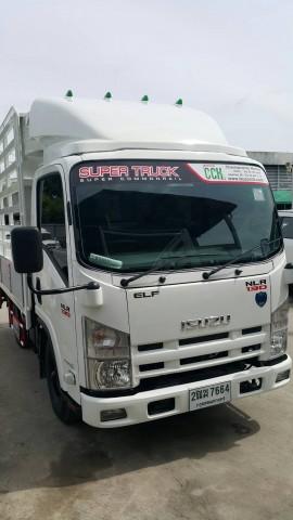 รถบรรทุกใหญ่ NLR 130 คอกแป็ป กล่อง จดป้ายเขียว ไม่ติดเวลา 086-3516797 ไกรสร