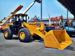 รถตักล้อยาง ( wheel loader )