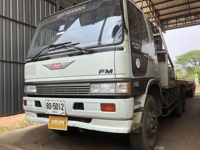 รถพ่วง 10 ล้อ หัวลาก Hino FM3MKKA