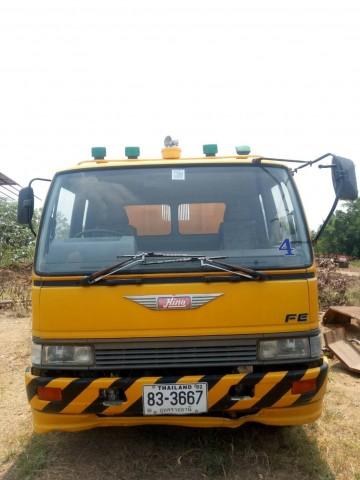 รถบ้านฝากขาย HINO FE3WJKA 6 ล้อ รถดั้ม สภาพดีพร้อมใช้งาน ปี 2559