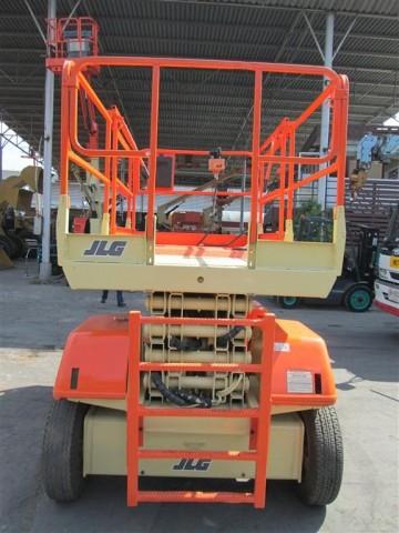 ขายรถกระเช้า JLG ขากรรไกร 3369E สูง 10.06 เมตร มือสอง ปรับสภาพแล้ว พร้อมใช้งาน