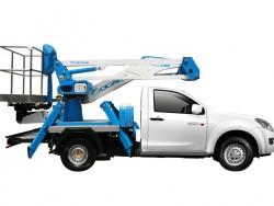 รถกระเช้าติดกระบะ Socage สัญชาติอิตาลี สะดวก คุ้มค้าการใช้งาน