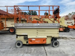 ขายรถกระเช้า JLG ขากรรไกร 3246ES สูง 9.68 เมตร มือสอง ปรับสภาพแล้ว พร้อมใช้งาน