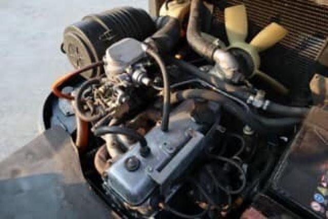TOYOTA 6FG15 เครื่องเบนซิน Toyota 5K ระบบเบนซิน + ติดแก๊สจากโรงงานญี่ปุ่น