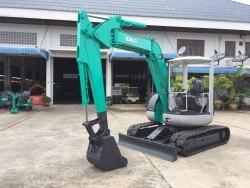 รถขุด Kobelco SK50UR มือสอง นำเข้าจากญี่ปุ่น พร้อมใช้งาน