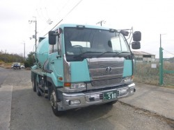 รถโม่ปูน NISSAN CW55 10 ล้อ มือสองนำเข้าจากญี่ปุ่น
