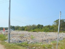 Pattaya Land for rent/sale. Area is Thepprasit Road