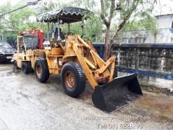 รถตักล้อยาง KOMATSU 505 ขับ 4WD เอวอ่อน ยกสูง 3-4 เมตร พร้อมใช้