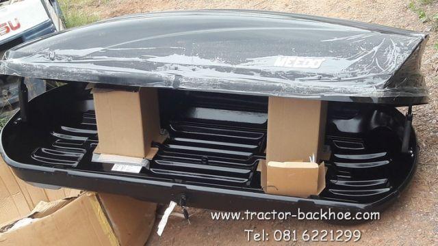 มาแล้วๆ ขายถูกมาก กล่องเก็บของติดหลังคารถ ขนาด 175 x 81.5 x 46cm/0.66cbm ของใหม่ นำเข้า