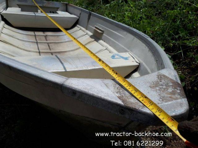 ขายถูกๆ เรือ อะลูมิเนียม น้ำหนักเบา ยกเพียง 2 คนเท่านั้น ยาว 12 ฟุต เก่านอก สภาพสวยๆ