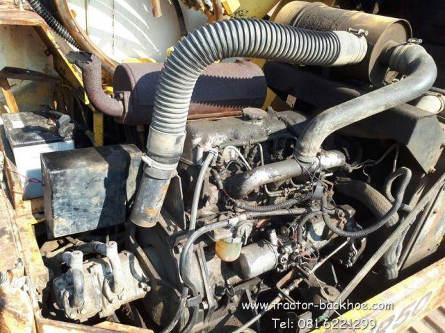 ขาย รถขุด แบคโฮ MITSUBISHI MXR50 คอสไลด์ ดีเซล 4 สูบ เก่านอกแท้ สภาพสวย แฟรมไม่ผุ เหล็กหนา