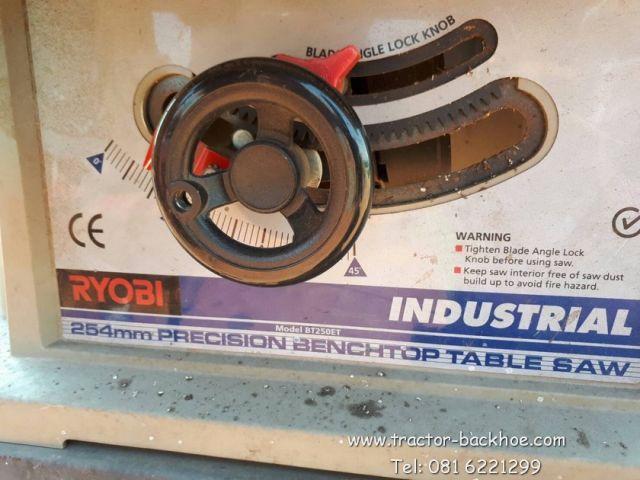 ขาย เครื่องตัดอลูมิเนียม แท่นตัด RYOBI ของเก่า ใต้หวัน 240 โวลท์ พร้อมใช้งาน