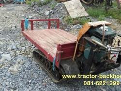 ขาย รถบรรทุกตะขาบ SHIBAURA เบนซิน แทรคยาง ใช้ในไร่ สวน การเกษตร อุตสาหกรรม ก่อสร้าง