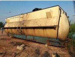 ขายถูกๆ แท้งค์น้ำ เก่าญี่ปุ่น 12,000 ลิตร ข้างในเคลือบ PVC มีปั๊มในตัว พื้นสแตนเลส ติดรถบรรทุกได้