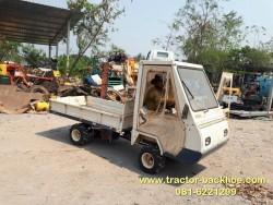 ขาย รถบรรทุกล้อยาง เบนชิน KUBOTA เอวอ่อน 4WD ยกดั้ม ระบบไฮโดรลิค เก่าญี่ปุ่น พร้อมใช้