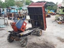 ขาย รถบรรทุก ล้อยาง 2 เพลา 4WD ดั๊มได้ ใช้ในสวน อุตสาหกรรม ก่อสร้าง เก่าญี่ปุ่น พร้อมใช้
