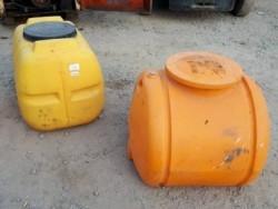 ขาย ถังน้ำ แท๊งก์น้ำ เก่าญี่ปุ่น สำหรับรถโม่ปูน ขนาด 300/350 ลิตร อย่างหนา ราคาใบละ 6,500-
