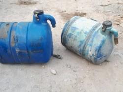 ขาย ถังน้ำ แท๊งก์น้ำ เก่าญี่ปุ่น สำหรับรถโม่ปูน ขนาด 200 ลิตร อย่างหนา ราคาใบละ 4,500-