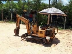 ขาย รถขุด แบคโฮ จิ๋ว YANMAR ํฺYB400 มีขาค้ำ ใช่งานในอาคาร งานขดวางท่อ พื้นที่แคบ