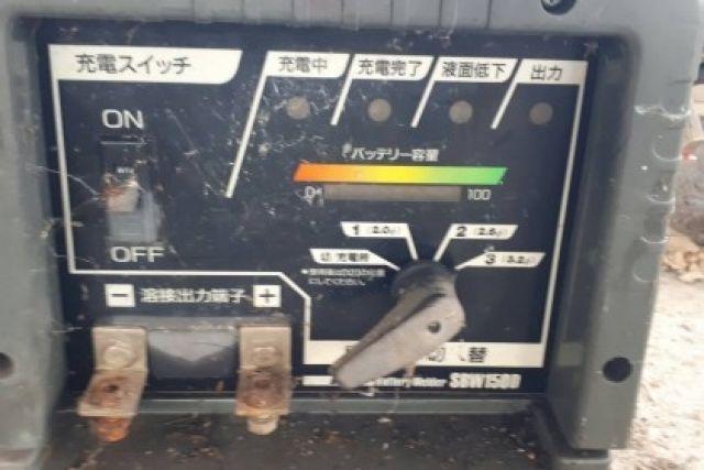 ขายตามสภาพ ตู้เชื่อม ไฟแบตเตอรี่ เก่าญี่ปุ่น SDW150D