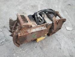 ขาย หัวขูดผิวถนน ขูดลอกพื้นคอนกรีต ลอกผิวคอนกรีต ติดรถขุด แบคโฮ PC 40 - 60 เก่าญี่ปุ่น