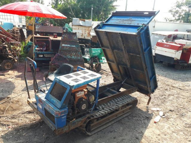 ขายถูกๆ รถบรรทุกตะขาบ รถขนสินค้า ยกดั๊มได้ ดั๊มเปอร์ เครื่องคาวา เก่าญี่ปุ่น พร้อมใช้