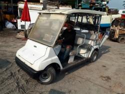 ขาย รถกอล์ฟ 4 ที่นั่ง SANYO ใช้ ในสวน ไร่ สนามกอล์ฟ โรงแรม โรงงาน รีสอร์ท เก่าญ๊่ปุ่น พร้อมใช้