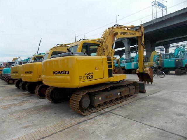 ขายรถแมคโค KOMATSU PC120-6-70022